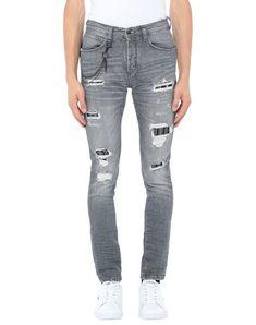 Antony Morato Denim Pants In Grey Antony Morato, Denim Pants, Sweatpants, Mens Fashion, Grey, Leather, Clothes, Shopping, Color