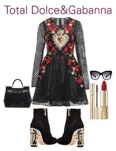 """""""Total Dolce&Gabanna"""" by mariangelpolanco ❤ liked on Polyvore featuring Dolce&Gabbana"""