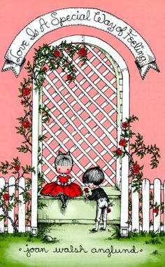 """""""Love Is a Special Way of Feeling"""" by Joan Walsh Anglund. One of my childhood favorites. Mainly for the illustrations :) Feelings Book, Joan Walsh, Love Is, Children's Book Illustration, Book Illustrations, Vintage Children's Books, Pretty In Pink, Childhood Memories, Childrens Books"""