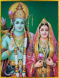 """""""Where there is Rama, there is neither fear nor failure.""""-Ramayana 1.13.15,4.49.15"""