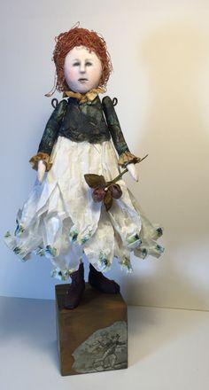Lizzie - Original Art Doll by SusanHopkirkFolkArt on Etsy