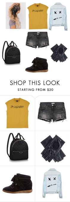 """""""Girlopwer outfit"""" by laur8779 on Polyvore featuring Monki, Black and Isabel Marant"""