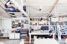 Impresionante el estudio de Yuriko Takagi – Photographer at her Studio in Tokyo « the selby My Art Studio, Home Studio, Studio Spaces, Dream Studio, Studio Ideas, Workspace Design, Home Office Design, Studio Interior, Interior Design