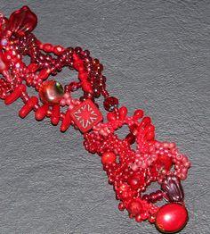 Elizabeth Creates- free form in red