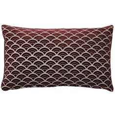 A rich burgundy coloured scallop pattern in soft velvet gives the Seigaiha Scallop Throw Pillow a classic look that works in both traditional and contemporary settings. The back of the pillow is a matching solid burgundy velvet. Red Throw Pillows, Outdoor Throw Pillows, Throw Pillow Covers, Fabric Squares, Perfect Pillow, Pillow Set, Decorative Pillows, Red And Blue, Burgundy