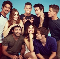 Ahh my cast.  Teen Wolf