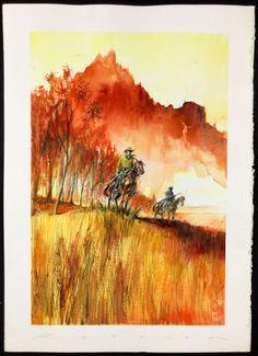 "Rotundo, Massimo - Watercolour ""Tex"" - W.B."