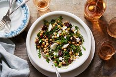 No-Chop Chickpea Salad Recipe on Food52, a recipe on Food52 Lunch Recipes, Cooking Recipes, Healthy Recipes, Food52 Recipes, Healthy Food, Healthy Lunches, Bite Size Food, Chickpea Salad Recipes, Chopped Salad