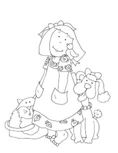 Free Dearie Dolls Digi Stamps: Search results for pets