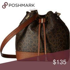 Calvin klein purse Brown leather handbag Calvin Klein Collection Bags Shoulder Bags