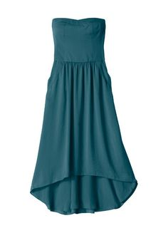 ♥ teal! Flirty silk dress by Rebecca Taylor