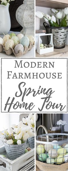 Simply Beautiful By Angela: Modern Farmhouse Spring Home Tour