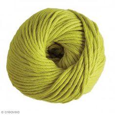 Fil DMC Natura XL - Vert anis - N°83 - 100 g