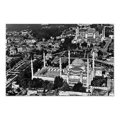 #Buy #purchase #digital #photography #photograph #photo #picture #image #print #1970s #1970 #download #file #antique #old #vintage #archive #historic #historical #hight #resolution #bw #black #white #stock #collection #licence #royalty #free #RF  Turkey Istanbul blue mosque overview $9.95