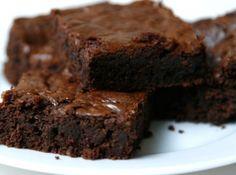 Brownie Tradicional - Veja mais em: http://www.cybercook.com.br/receita-de-brownie-tradicional.html?codigo=114061