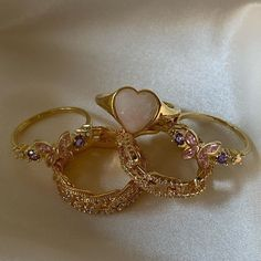 Ear Jewelry, Dainty Jewelry, Cute Jewelry, Jewelry Accessories, Gold Jewelry, Jewelery, Funky Jewelry, Ring Necklace, Earrings