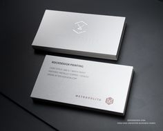 RockDesign.com | High End Business Cards | Premium White Uncoated Stock