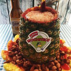#Botana #Piña #Cacahuate #Cerveza #Michelada