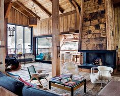 Bohemian Chalet located inMegève, French Alps designed byLionel Jadot.In the French Alps, with Mont Blanc view, this is a completely renovated wooden former farmhouse.An idyllic retreat in harmony with the...