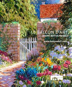 Catalogue | André Bertounesque | Catalog  oeuvres disponible | works available 2015  le balcon d'art