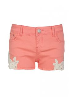 Black Cerys Crochet Shorts from Select Fashion online store