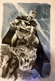 """Batman by Francis Manapul """