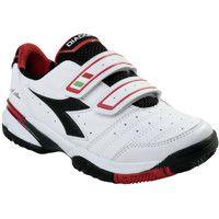 Diadora Tennis shoes S.Star Junior Unisex Junior white/black/red