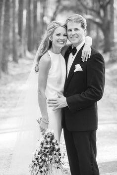 Cameran Eubanks and Dr. Jason Wimberly on hugging on wedding day http://itgirlweddings.com/cameran-eubanks-southern-wedding/