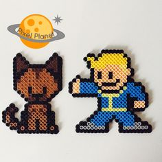 Fallout Perler Beads Sprite Collection by PixelPlanetShop on Etsy                                                                                                                                                                                 More