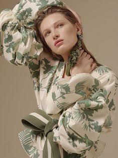 Earrings/Aretes, inspiración flamenca - Johanna Ortiz » Spring Summer '17