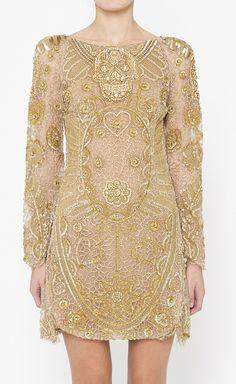 Emilio Pucci Gold Dress // Gorgeous~
