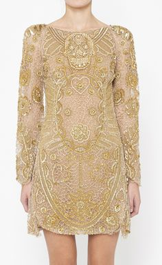 Emilio Pucci Gold Dress