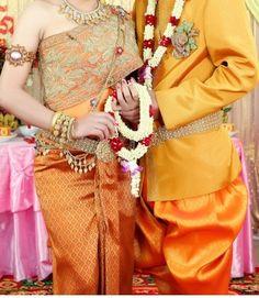 traditional Cambodian wedding dress