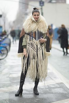 Pin for Later: Catch Up on All of NYFW's Best Street Style Day 5 Giovanna Battaglia.