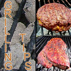 Grilling Tips - Here are a few tips to help out with the grilling. Some of these are common, and a lot will already know this, but I hope this will help those that are new to cooking outdoors.