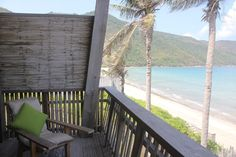 The duplex villa has a balcony where you could lounge and enjoy the soothing sound of the waves.  http://thetlist.net/2016/02/24/six-senses-con-dao-an-unspoiled-paradise/