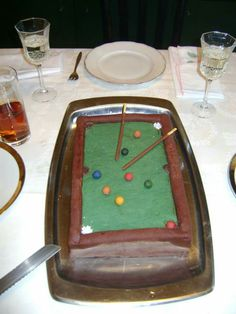 Billard Poker Table, Furniture, Home Decor, Pies, Cakes, Homemade, Homemade Home Decor, Poker Table Top, Home Furnishings