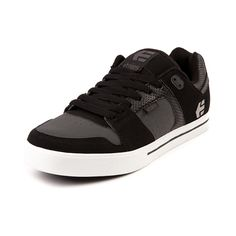 Shop for Mens etnies Rockfield Skate Shoe in Black Gray White at Journeys Shoes. Shop today for the hottest brands in mens shoes and womens shoes at Journeys.com.The etnies Rockfield skate kick features a leather upper with breathable air hole perforations, padded collar and tongue, EVA molded midsole, and a durable rubber outsole. Available exclusively at Journeys!