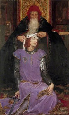Eleanor Fortescue Brickdale, Time, The Physician