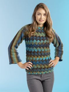 We've gathered our favorite ideas for Free Pattern Friday Landscapes Sweater Universal Yarn, Explore our list of popular images of Free Pattern Friday Landscapes Sweater Universal Yarn. Sweater Knitting Patterns, Knit Patterns, Free Knitting, Knitting Sweaters, Universal Yarn, Sweater Design, Knit Crochet, Crochet Tops, Free Pattern