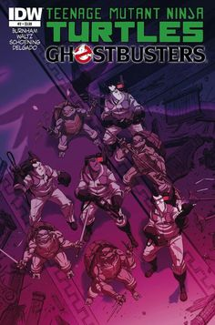 Teenage Mutant Ninja Turtles GhostBusters Volume 2 Comic Book
