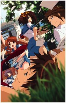 The Melancholy of Haruhi Suzumiya  - this is a pretty good series! me likey!