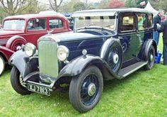 1933 Humber 16-60 2.2L Straight Six Cylinder Side-Valve Engine
