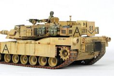 M1A1 Abrams By Modeler Cheng-Hsien 1:35 Scale