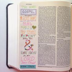 shanna noel: Journaling Bible | Kelly Bangs