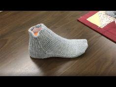 İki Şişle Dikişsiz Çorap Örgüsü - YouTube