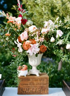 Photography: White Loft Studio | Wedding Planning + Design: A Family Affair of Maine | Floral Design: Broadturn Farm | Lighting: The Event Light Pros