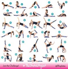 Bikini Body Slimdown + The Stretch Project Modifications (Blogilates: Fitness…