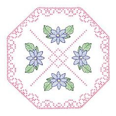 Octagon Quilt Squares - Make a beautiful quilt or wall hanging. Quilt Kits, Quilt Blocks, Embroidery Transfers, Pattern Blocks, Square Quilt, Needlepoint, Needlework, Cross Stitch, Quilts