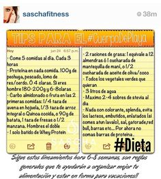 If you speak spanish and have instagram follow this girl her fitness tips are great and really practical @Sascha Barboza   Si hablas español y tienes instagram sigue esta chica sus consejos sobre el fitness son reales y geniales @Sascha Barboza